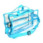 Large Shoulder Bag - Blue