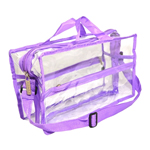 Large Shoulder Bag - Purple