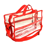 Large Shoulder Bag - Red