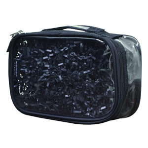 Small Stackable Pouch - Black