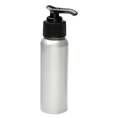 Aluminum Pump Bottle 2oz